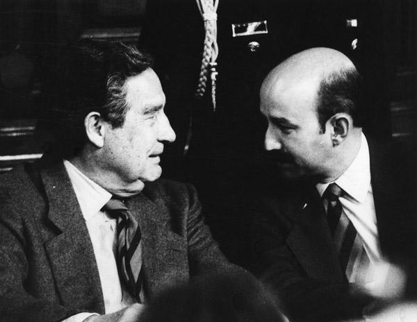 Octavio Paz y Carlos Salinas. Fuente: http://expectaculos.com